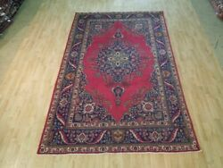 7 X 10 Authentic Hand Knotted Semi-antique Rug B-72807