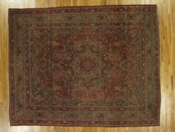10x13 Authentic Hand-knotted Antique Rug Pix-26343