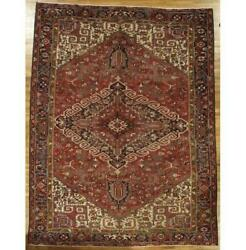 10x13 Authentic Hand-knotted Semi-antique Rug Pix-29191