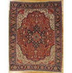 8x11 Authentic Hand-knotted Antique Rug Pix-29275