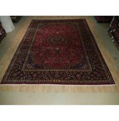 10x13 Authentic Hand Knotted Semi-antique Rug B-73515