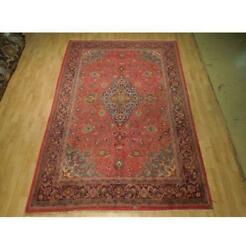6x10 Authentic Hand Knotted Semi-antique Rug B-74946