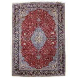 10x15 Authentic Hand Knotted Oriental Wool Rug Red B-80859
