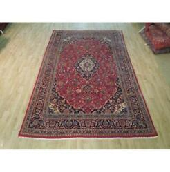 6x10 Authentic Hand Knotted Semi-antique Rug B-72158