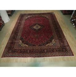 10x13 Authentic Hand Knotted Semi-antique Rug B-73526