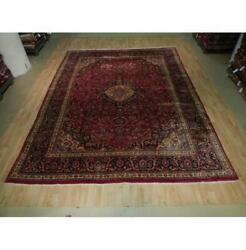 10x13 Authentic Hand Knotted Semi-antique Rug B-73598