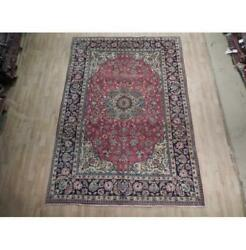 7x10 Authentic Hand Knotted Semi-antique Rug B-74529
