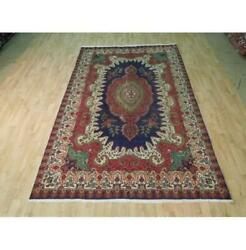 7x10 Authentic Hand Knotted Semi-antique Rug B-72845