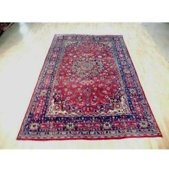 7x10 Authentic Hand Knotted Semi-antique Rug B-72087