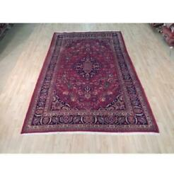 7x10 Authentic Hand Knotted Semi-antique Rug B-71995