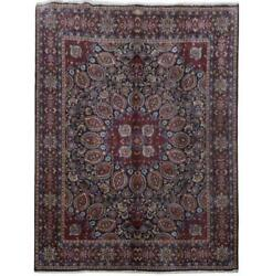 10x13 Authentic Hand-knotted Signed Moud Rug B-81318