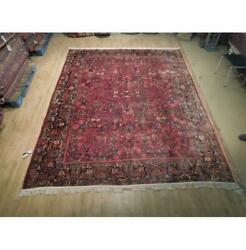 12x9 Hand Knotted Semi-antique Lilihan Rug B-74970