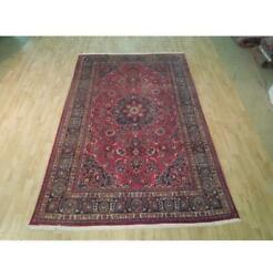 6x10 Authentic Hand Knotted Semi-antique Rug B-72125