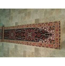 3x20 Authentic Hand Knotted Runner Rug B-74138