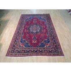 6x10 Authentic Hand Knotted Semi-antique Rug B-72024