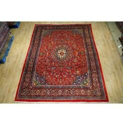 7x10 Authentic Hand Knotted Semi-antique Rug B-74649