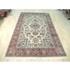 7x10 Authentic Hand Knotted Semi-antique Rug B-72236
