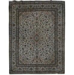 10x13 Authentic Hand-knotted Signed Kashmar Rug B-81138