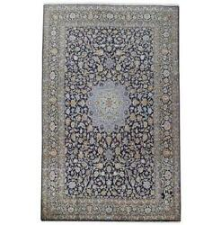 10x16 Authentic Hand-knotted Oriental Signed Wool Rug Lite Blue B-82343
