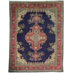 10x13 Authentic Hand Knotted Semi-antique Rug B-71090