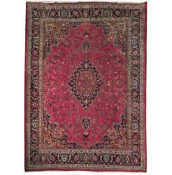 10x13 Authentic Hand Knotted Semi-antique Rug B-71075