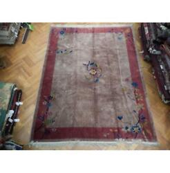 9x12 Hand Knotted Antique Chinese Art Deco Rug Pix-23562