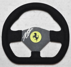 Charles Leclerc Signed Replica 10 Inches Ferrari Steering Wheel With Photo Proof