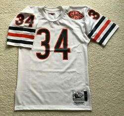 Sold Out Walter Payton Chicago Bears Mitchell Ness Authentic Game Jersey 40