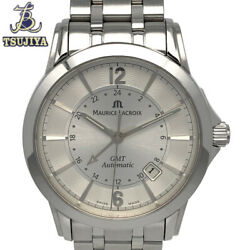 Maurice Lacroix Gmt Stainless Steel Automatic Men's Watch From Japan[b0908]