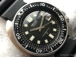 Seiko Diver Overhaul Date Uemura Automatic Authentic Mens Watch Works