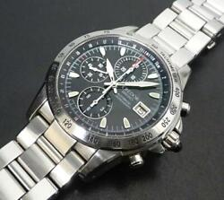 Seiko Credor Gcbp997 Chronograph Ss 6s78-0a10 Automatic Mens Watch Auth Works