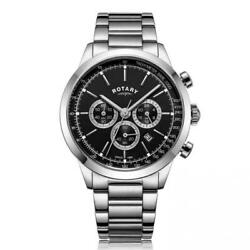 Rotary Cambridge Stainless Steel Watch Gb05253/04 Rrp Andpound269 Our Price Andpound194.95