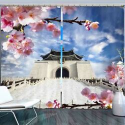City Wall Historic Sites 3d Blockout Photo Print Curtain Fabric Curtains Window
