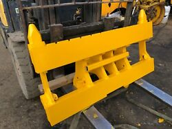 Genuine Jcb Pin And Cone Front Quick Hitch Carriage