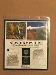 2013 New Hampshire-white Mountain Forest Pcs Statehood Quarter Collection Sheet