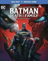 BATMAN:DEATH IN THE FAMILY BLU RAYDIGITAL W SLIPCOVER NEW FREE SHIPPING