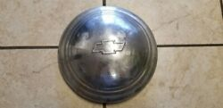 Vintage Chevy Truck 9 Dog Dish Center Hub Cap Baby Moon 1940and039s 1950and039s Used