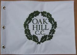 Oak Hill Golf Club Embroidered Golf Pin Flag Pga + Us Open Course Jack Nicklaus