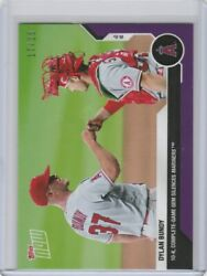 2020 Topps Now Parallel 69 Dylan Bundy Los Angeles Angels 17/25