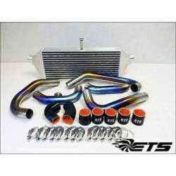 Ets Ti 2.00 Piping Kit Aftermarket Replace Turbo Tial Bov Burned For Sti 06-07