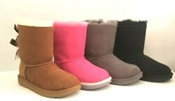 NEW IN BOX KIDS UGG BAILEY BOW II BOOTS SIZE 6T 2K amp; 3K 1017394K $79.99