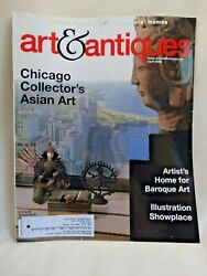 Art And Antiques Magazine-april 2006-chicago Collector's Asian Art + Baroque Art