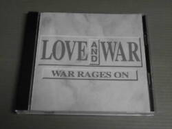 Used Mushrooms Management Love And War War Rages On Cd Rock With Lyric Sheet