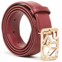 Belt Pinko Fischio Small Simply H30 Logo Buckle 1h20s4 Y5ff R33 Bordeaux