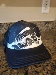 The North Face Black Jeep Hat Land Rover Photobomb Trucker Mesh Back Adjustable