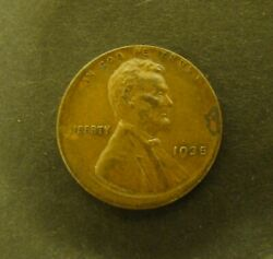 1935 Off Center Wheat Penny Nice Early Lincoln Cent Error - Full Date