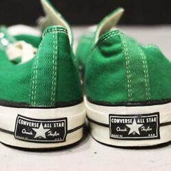 Very Rare Dead Stock Converse Chuck Taylor 1 Star Sneaker Green From Japan B7