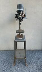 Vintage Delta Rockwell Radial Drill Press 11-280 With Stand