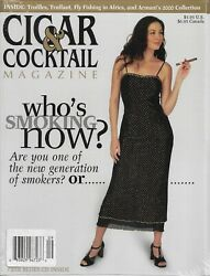 Cigar And Cocktail Magazine Sept/oct 1999 - Brand New - Factory Sealed - Mint