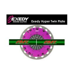 Exedy Racing Stage 4 Hyper Twin Plate Clutch Kit 96-08 Ford Mustang Gt 4.6l 281